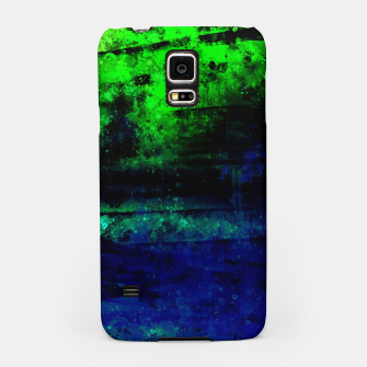 psychedelic sky clouds pattern wslsi Samsung Case miniature