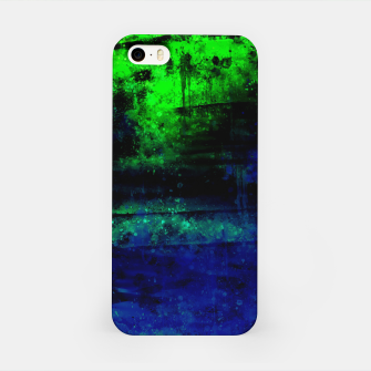 psychedelic sky clouds pattern wslsi iPhone Case miniature