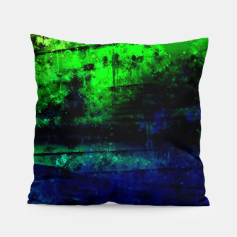 psychedelic sky clouds pattern wslsi Pillow miniature