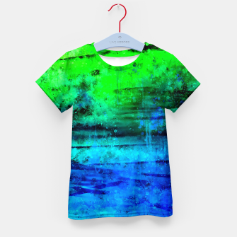 Thumbnail image of psychedelic sky clouds pattern wsstdi Kid's t-shirt, Live Heroes