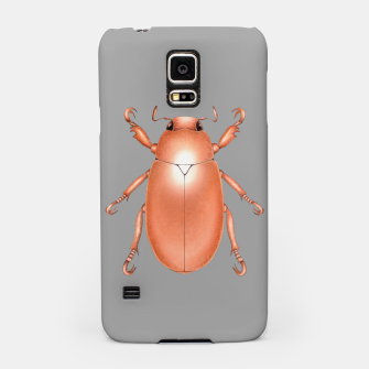 Copper Beetle (Grey Background) Samsung Case miniature