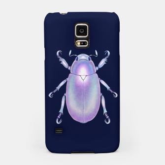 Pearly Holographic Beetle Samsung Case thumbnail image