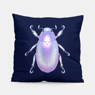 Pearly Holographic Beetle Pillow thumbnail image