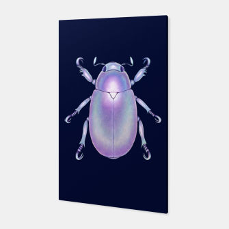 Pearly Holographic Beetle Canvas thumbnail image