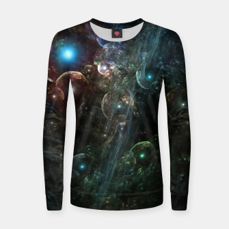 Thumbnail image of Mystery Of The Orb Cluster Women sweater, Live Heroes