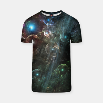 Thumbnail image of Mystery Of The Orb Cluster T-shirt, Live Heroes