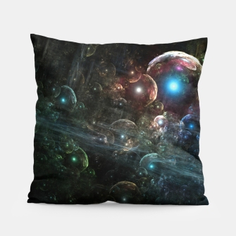 Thumbnail image of Mystery Of The Orb Cluster Pillow, Live Heroes