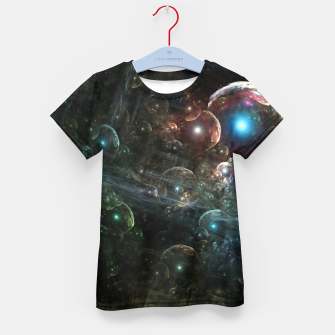Thumbnail image of Mystery Of The Orb Cluster Kid's t-shirt, Live Heroes