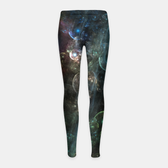 Thumbnail image of Mystery Of The Orb Cluster Girl's leggings, Live Heroes