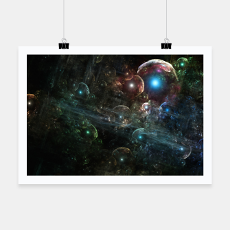 Thumbnail image of Mystery Of The Orb Cluster Poster, Live Heroes