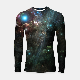 Thumbnail image of Mystery Of The Orb Cluster Longsleeve rashguard , Live Heroes