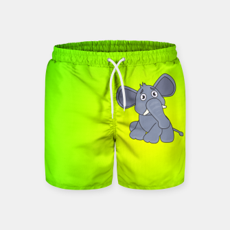 Elephant Swim Shorts miniature