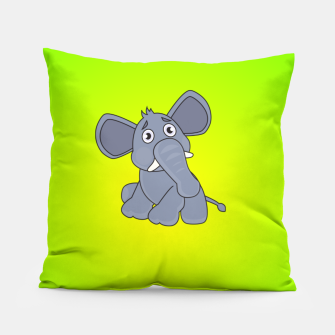 Elephant Pillow miniature