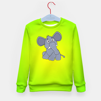 Elephant Kid's sweater miniature