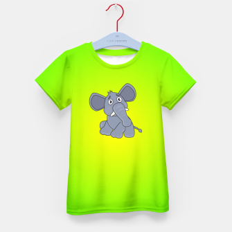 Elephant Kid's t-shirt miniature