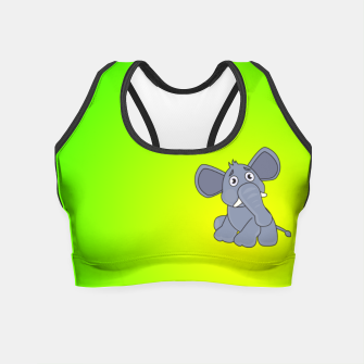 Elephant Crop Top miniature