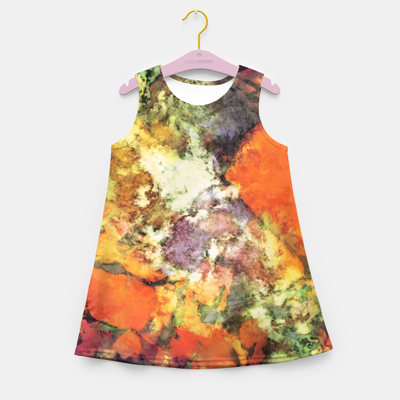 Image of Under the surface Girl's summer dress - Live Heroes