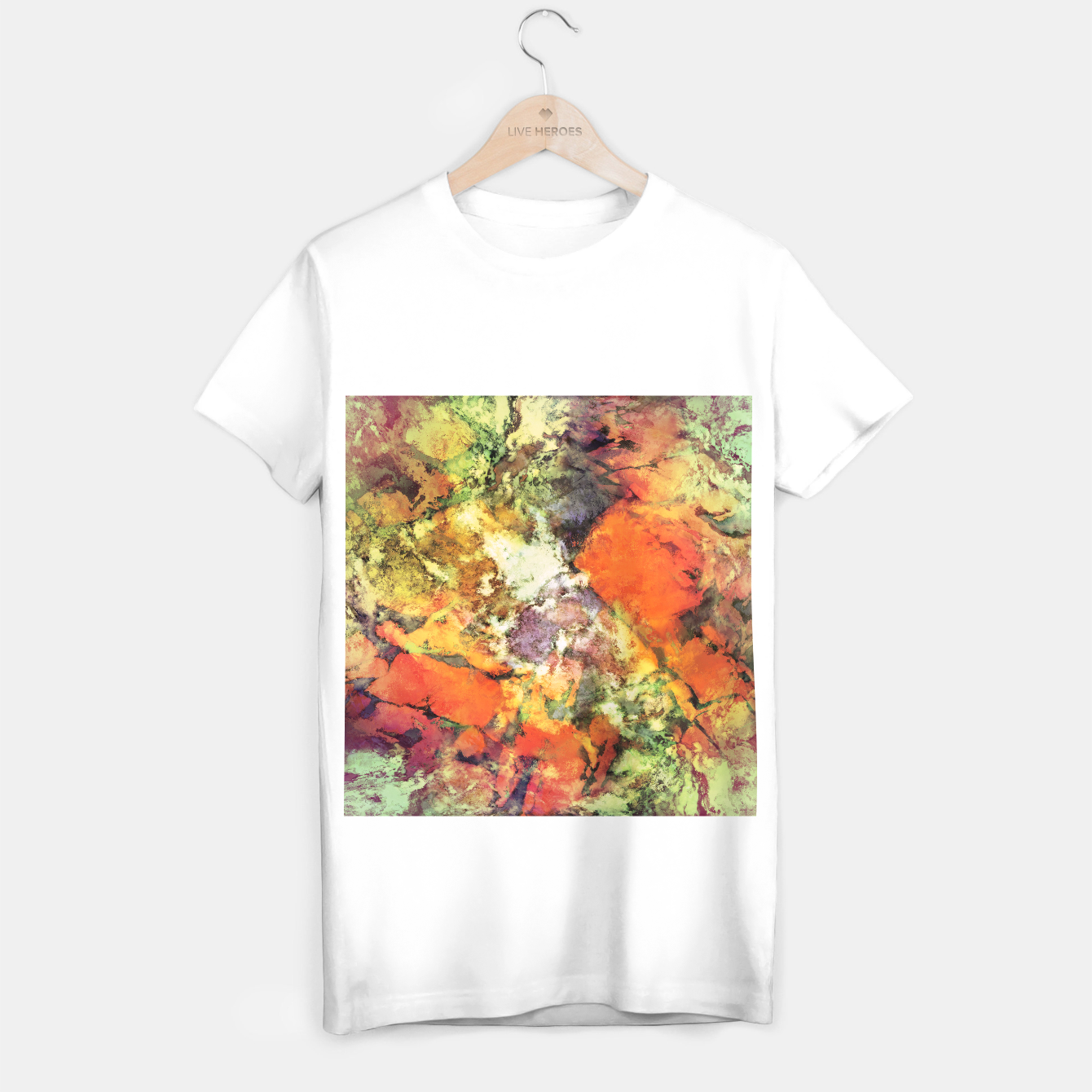 Image of Under the surface T-shirt regular - Live Heroes