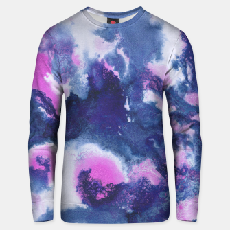 Miniaturka Blue Pink Abstract Painting #1 #ink #decor #art Unisex sweatshirt, Live Heroes