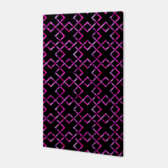 Thumbnail image of Pink Geometric Pattern Canvas, Live Heroes