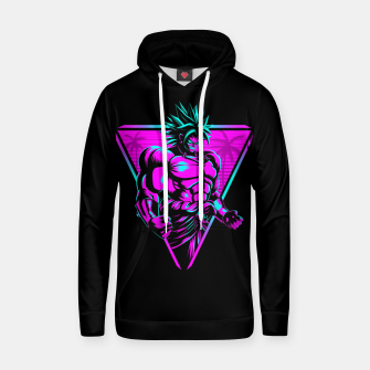 Thumbnail image of Retro muscle warrior Sudadera con capucha, Live Heroes