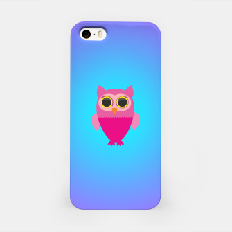 Thumbnail image of Pink Olw iPhone Case, Live Heroes