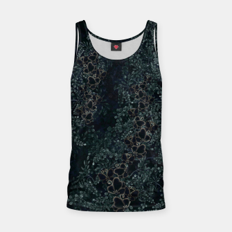 Thumbnail image of Japanese traditional family emblem design Flower and Butterfly Tank Top, Live Heroes