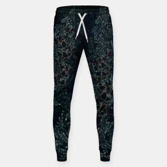 Thumbnail image of Japanese traditional family emblem design Flower and Butterfly Sweatpants, Live Heroes