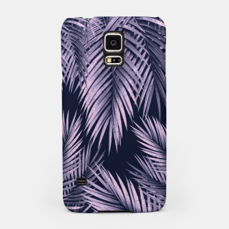 Thumbnail image of Palm Leaf Jungle Night Vibes #2 #tropical #decor #art Handyhülle für Samsung, Live Heroes