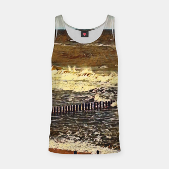 Thumbnail image of baltic see in winter Tank Top, Live Heroes