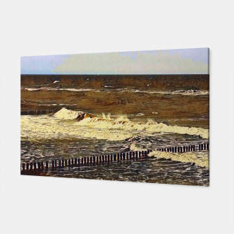 Thumbnail image of baltic see in winter Canvas, Live Heroes