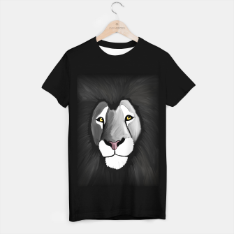 Miniatur The Grey Lion T-shirt regular, Live Heroes