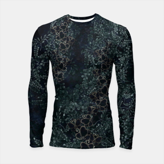 Thumbnail image of Japanese traditional family emblem design Flower and Butterfly Longsleeve rashguard , Live Heroes