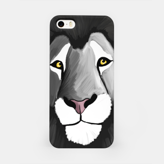 Miniatur The Grey Lion iPhone Case, Live Heroes