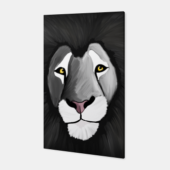 Miniatur The Grey Lion Canvas, Live Heroes