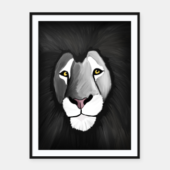 Miniatur The Grey Lion Framed poster, Live Heroes