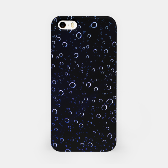 Thumbnail image of Blued Dark Bubbles Print iPhone Case, Live Heroes