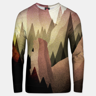 Miniaturka The Forest and mountains Unisex sweater, Live Heroes