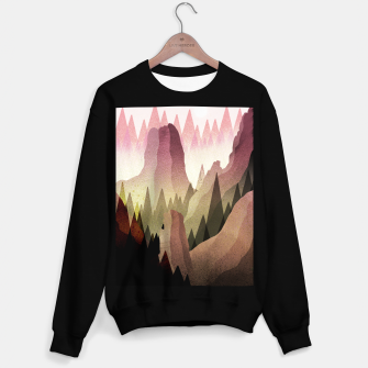 Miniatur The Forest and mountains Sweater regular, Live Heroes