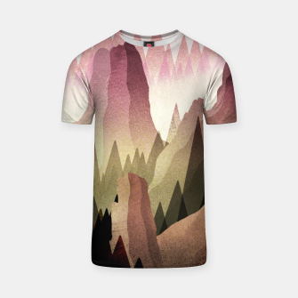 Miniatur The Forest and mountains T-shirt, Live Heroes
