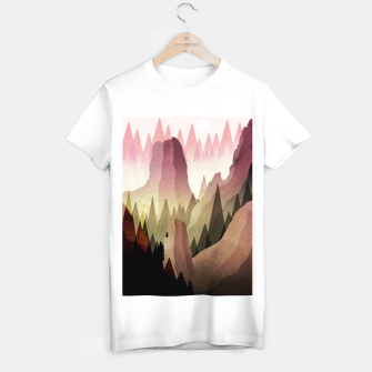 Miniatur The Forest and mountains T-shirt regular, Live Heroes