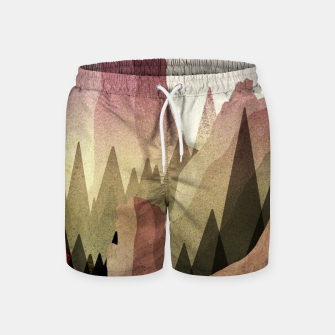 Miniatur The Forest and mountains Swim Shorts, Live Heroes
