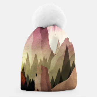 Thumbnail image of The Forest and mountains Beanie, Live Heroes