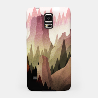 Miniatur The Forest and mountains Samsung Case, Live Heroes