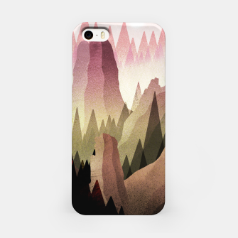 Miniatur The Forest and mountains iPhone Case, Live Heroes