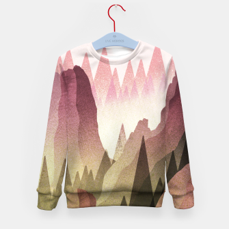 Miniatur The Forest and mountains Kid's sweater, Live Heroes