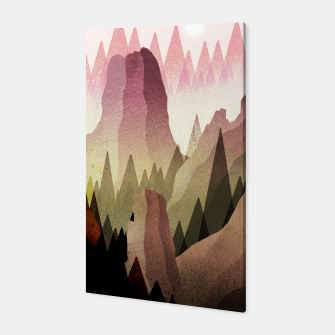 Thumbnail image of The Forest and mountains Canvas, Live Heroes