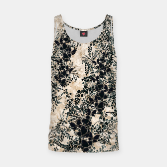 Thumbnail image of Japanese traditional family emblem art Flower and Butterfly white Tank Top, Live Heroes