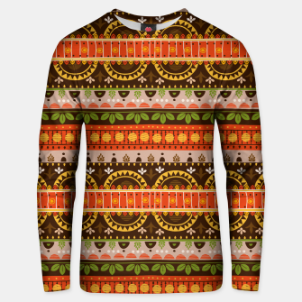 Thumbnail image of Tribal Pattern - 16 Indian Summer Unisex sweater, Live Heroes