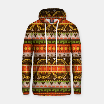 Thumbnail image of Tribal Pattern - 16 Indian Summer Hoodie, Live Heroes